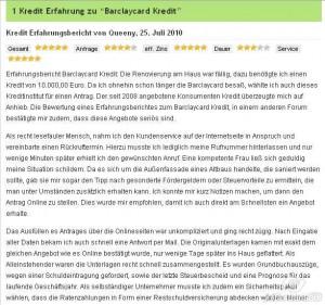 Auf kredit-erfahrungen.com haben alle Leser die Möglichkeit, über die Meinungen und Erfahrungen der anderen zu erfahren und eigene Bewertungen darzustellen