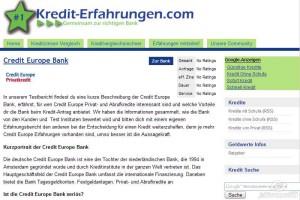 Auf kredit-erfahrungen.com lesen Sie die Meinungen und Bewertungen der Leser, die über ihre Erfahrung mit dem Kredit berichten
