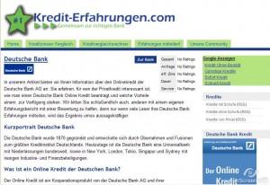 Auf kredit-erfahrungen.com können Sie Erfahrungsberichte der User lesen, sowie selbst einen Bericht mit den eigenen Bewertungen schreiben