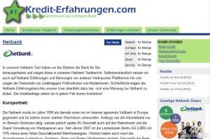 Netbank Erfahrungen